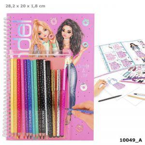 Kleurboek met potloden TOPmodel