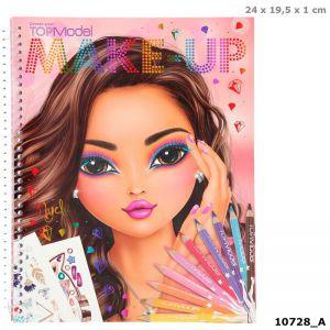 TOPmodel make up kleurboek 0728