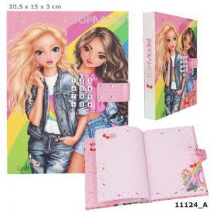 TOPModel dagboek met geheime code 11124