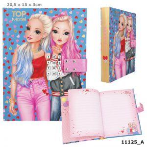 TOPmodel dagboek met code 11125