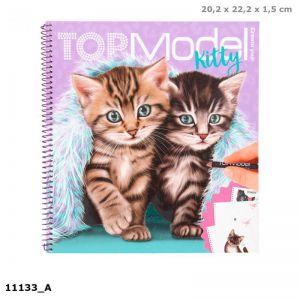 TOPModel Create your Kitty kleurboek 11133