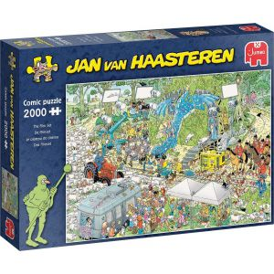 Jan van Haasteren De Filmset puzzel - 2000 stukjes