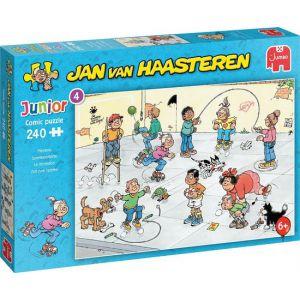 Jan van Haasteren Junior Speelkwartiertje puzzel - 240 stukjes - Kinderpuzzel