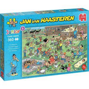 Jan van Haasteren Junior De Kinderboerderij - 360 stukjes - Kinderpuzzel