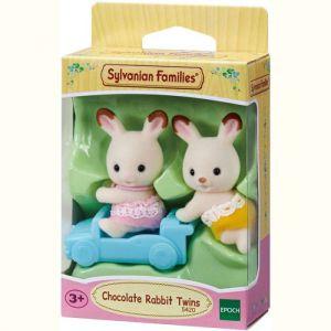 Sylvanian families Choco konijn twins