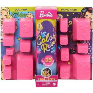 Barbie Color Reveal Ultimate Reveal Dogpark & Movienight - Barbiepop