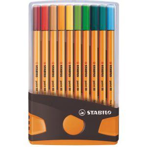 STABILO point 88 - ColorParade Set Met 20 Verschillende Kleuren