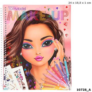 TOPmodel Make-Up kleurboek