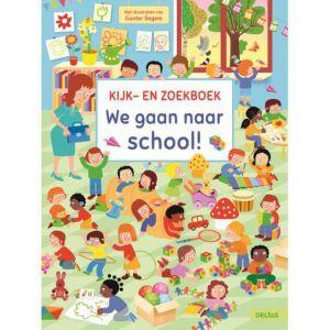 Kijk- en zoekboek we gaan naar school