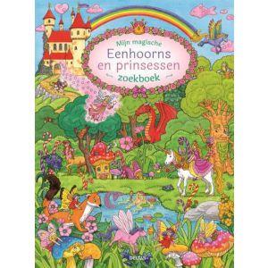 Kijk- en zoekboek eenhoorns en prinsessen