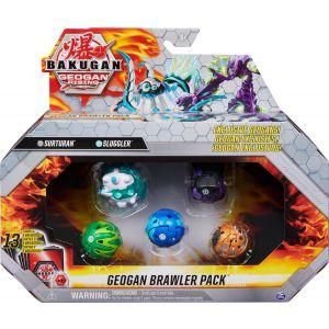 bakugan Geogan Brawler 5 pack Assortiment Season 3.0