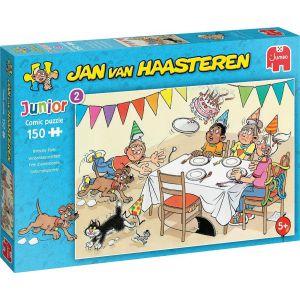 Jan van Haasteren Junior Verjaardagspartijtje puzzel - 150 stukjes - Kinderpuzzel