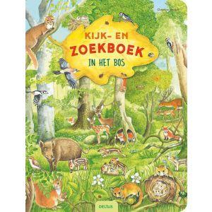 Kijk- en zoekboek in het bos