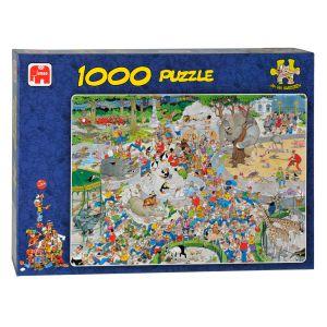 Puzzel JvH De Dierentuin 1000