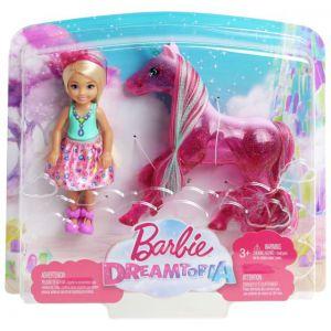 Barbie chelsea en eenhoorn