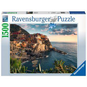 Puzzel 1500 uitzicht op de Cinque Terre