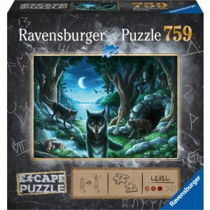 Puzzel Escape Room 7 Curse of the wolves