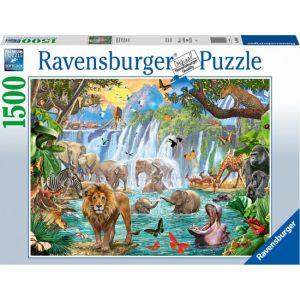 Puzzel 1500 Waterval in de Jungle