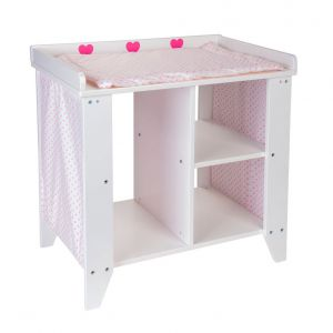 Poppen commode hout