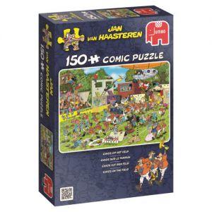 Puzzel JvH: Chaos op het Veld 150 stukjes