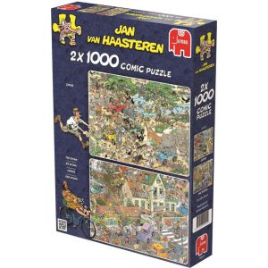 Puzzel 2x 1000 Jvh Safari & Storm