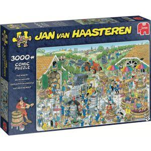 Puzzel JvH: De Wijnmakerij 3000 stukjes