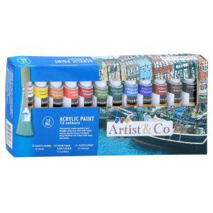 Acrylverf 12 stuks 12ml