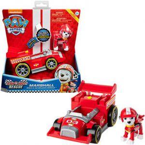 Paw Patrol Race themed vehicle marshall
