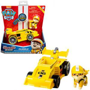 Paw Patrol Race Rescue Themed Vehicles Rubble