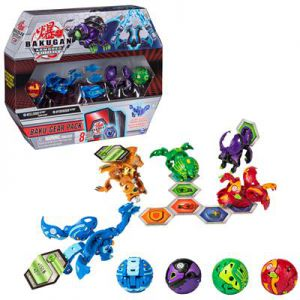 Bakugan Baku Gear 4 Pack Season 2.0