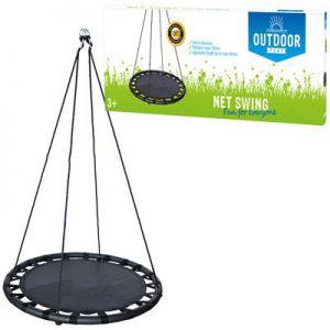 Outdoor Play Schommel mat 100cm Zwart