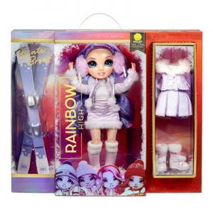 Rainbow High Fashion winter break doll - Violet Willow