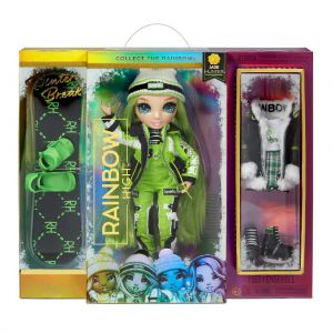 Rainbow High Fashion winter break doll - Jade Hunter