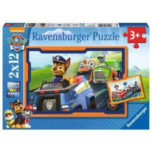 Puzzel 2x12 paw patrol in actie