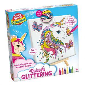 Hobbydoos Unicorn glitter tekenen