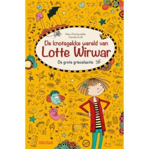 Boek Lotte wirwar grote griezelactie