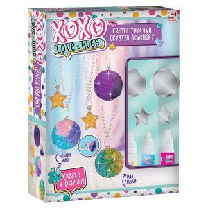 Groeiend kristal sieraden XOXO