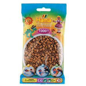 Strijkkralen Hama Nougat Bruin 1000 Stuks