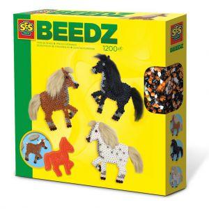 SES Strijkkralen paarden met manen