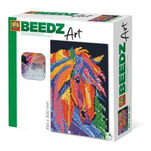 SES BEEDZ: Strijkkralen Paard Fantasie