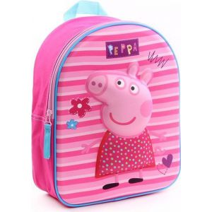 Peppa Pig Pretty Little Things 3D Kinderrugzak - Roze