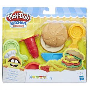 Playdoh Burger Bash