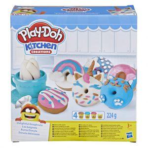 Playdoh Donuts maken