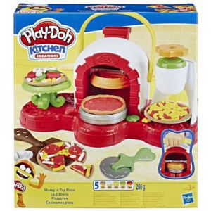 Playdoh Pizza chef