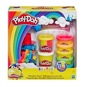 Playdoh Rainbow Twirl