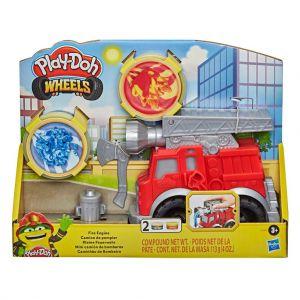 Playdoh Wheels brandweerwagen