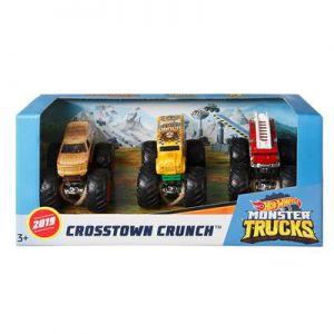 Hot Wheels Monster Trucks 1:64 3 Pack