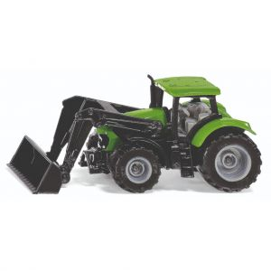 Siku tractor deutz fahr met frontlader