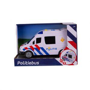 Auto politiebus met licht en geluid