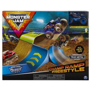 Monster Jam Stunt Playsets 1:64